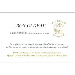 Cartes cadeaux - CARTE CADEAU | Parfums de créateurs
